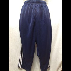 Women's size Large ADIDAS cropped track pants